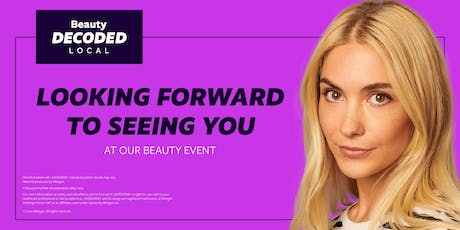 Beauty Decoded Local - NEOMO Skinlab tickets