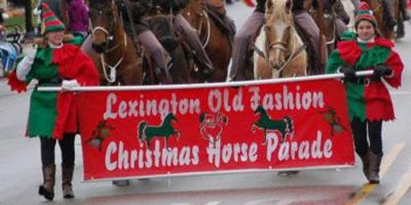 Lexington Christmas Horse Parade 2019 tickets