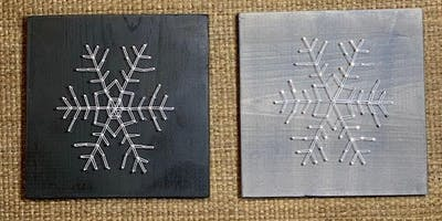 String Art with Tagg Art at Gather Branford