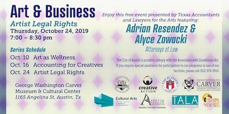 Art & Business: Artist Legal Rights tickets