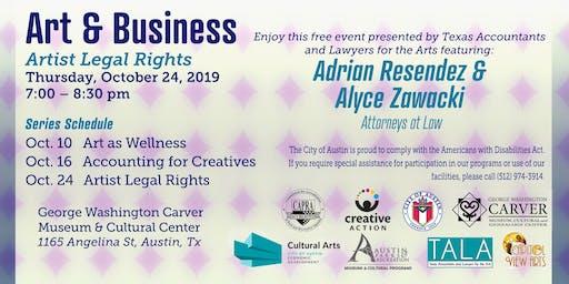 Art & Business: Artist Legal Rights