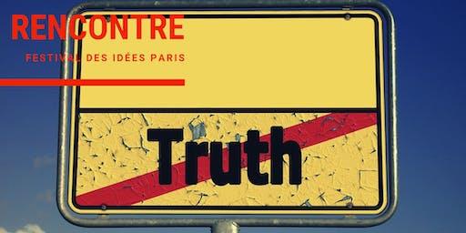 La vérité ne compte plus / #Festival des idées Paris