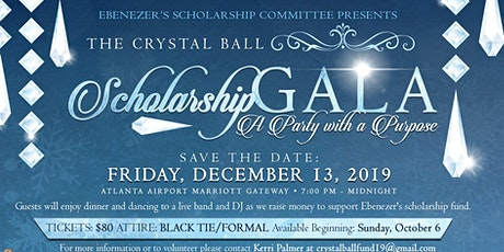 Crystal Ball Scholarship Gala tickets