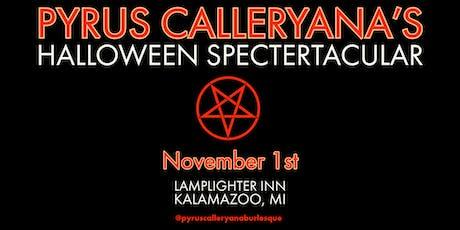 Pyrus Calleryana's Halloween SpecterTacular tickets