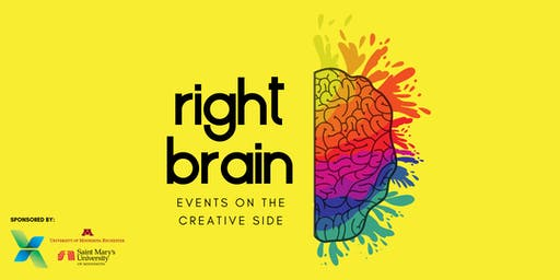 Right Brain: Events Designed to Activate the Creative Side