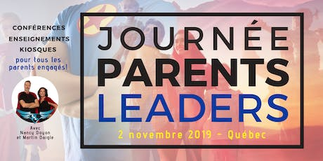 Journée Parents Leaders - 1ère édition billets