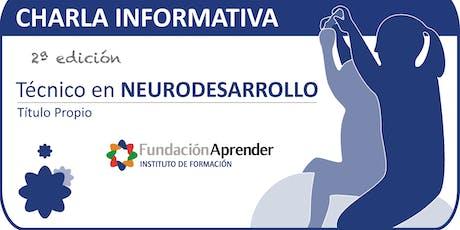 Charla Informativa Curso Técnico en Neurodesarrollo tickets