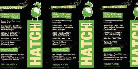 HATCH - Halloween tickets