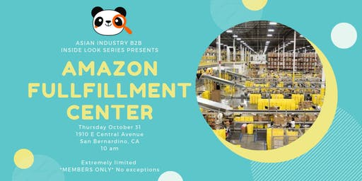 AIB2B Inside Look Series feat. Amazon Fulfillment Center *MEMBERS ONLY*
