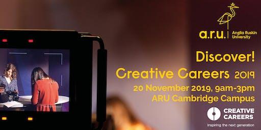 Anglia Ruskin University: Discover! Creative Careers 2019