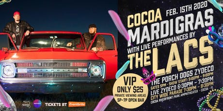 2020 COCOA MARDI GRAS feat. The LACS tickets