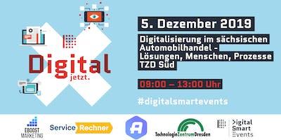 Digitalisierung im sächsischen Autohandel - Lösungen, Menschen, Prozesse,