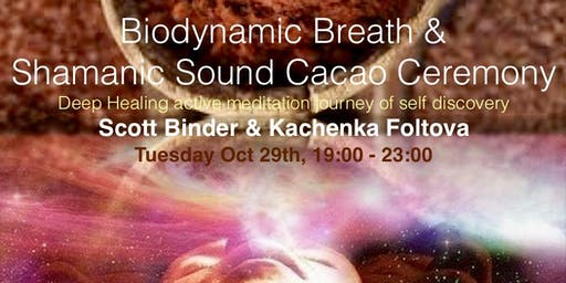 Biodynamic Breath and Shamanic Sound Cacao Ceremony