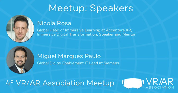 4º VR/AR Association Meetup image