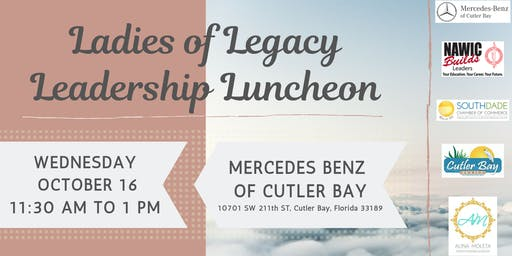 Ladies of Legacy Leadership Luncheon