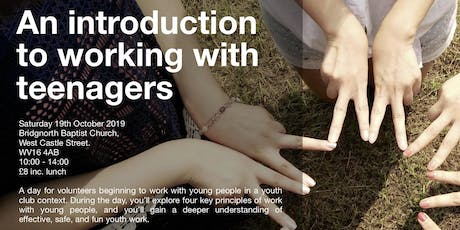 An introduction to working with teenagers tickets