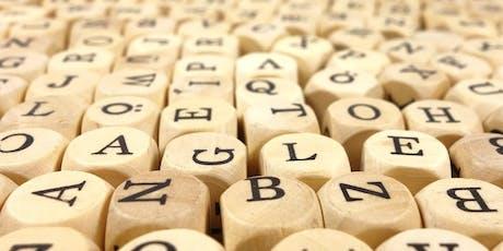 English Language Masterclass: Phonetics and phonology tickets