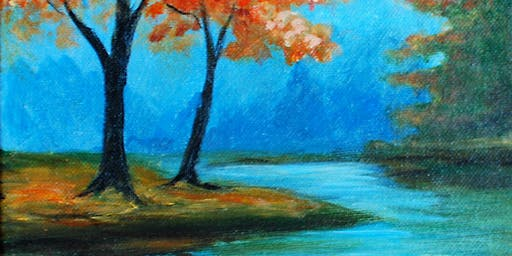 Fall Reflections-Canvas Paint Night