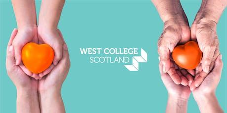 West College Scotland: We Do Care tickets