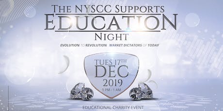 NYSCC Supports Education Night 2019 tickets