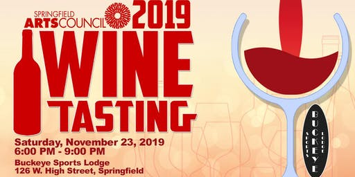 Springfield Arts Council's Wine Tasting 2019