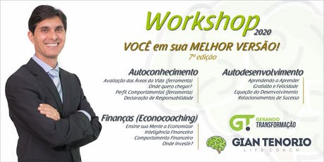 WORKSHOP VOCÊ EM SUA MELHOR VERSÃO! - 7ª EDIÇÃO - BRASÍLIA/DF ingressos