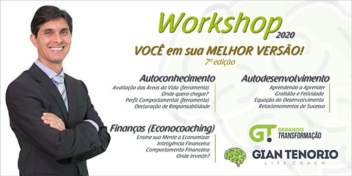 WORKSHOP VOCÊ EM SUA MELHOR VERSÃO! - 7ª EDIÇÃO - BRASÍLIA/DF