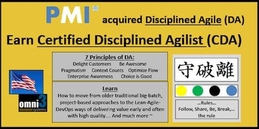 CXP-Certified Disciplined Agilist-(CDA) eXam-Prep [CXP] - DA agile- Bloomington, Ill