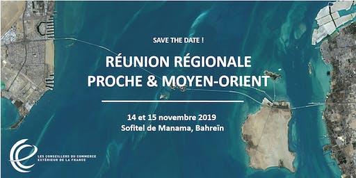 Réunion régionale CCE 2019 - Bahreïn