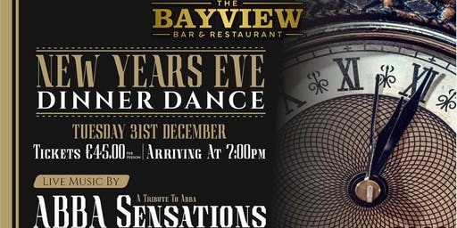 Bayview NYE Dinner Dance with ABBA Sensation