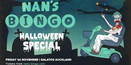 Nan's Bingo Halloween - Auckland tickets