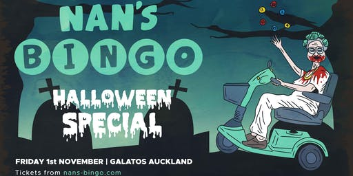 Nan's Bingo Halloween - Auckland