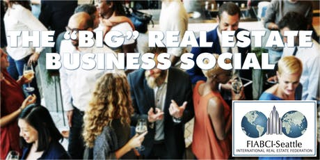 """FIABCI """"Big"""" Real Estate Business Social tickets"""