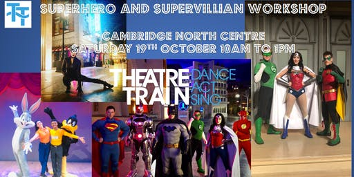 Theatretrain Superhero and Supervillain workshop