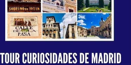 Tour Curiosidades e Historia de Madrid tickets