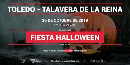 Fiesta Halloween con Dj Laguna en Pause&Play Los Alfares