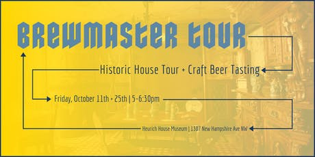 October Brewmaster Tours tickets