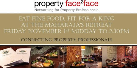 Property face2face Curry Club 1st November 2019 tickets