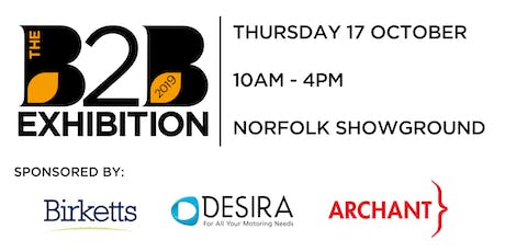 The B2B Exhibition 2019 tickets