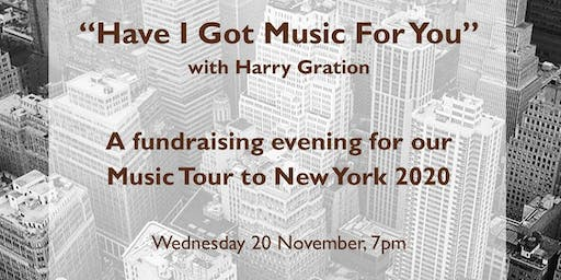 Music Tour Fundraiser
