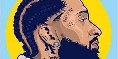 Nipsey Hussle Paint Party | October
