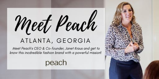Meet Peach | Atlanta, Georgia