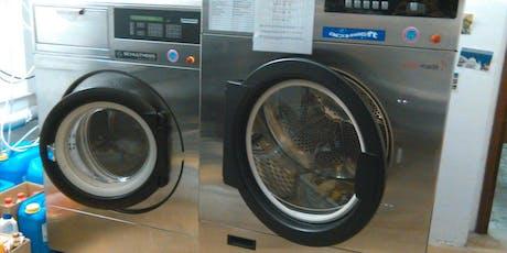 La chimica in lavanderia biglietti