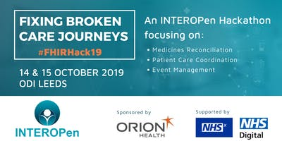 Fixing Broken Care Journeys: an INTEROPen Hackathon