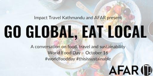 Impact Travel Kathmandu Presents: World Food Day