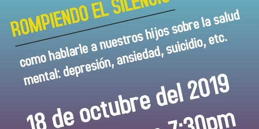 Rompiendo el Silencio: como hablarle a nuestros hijos sobre la salud mental