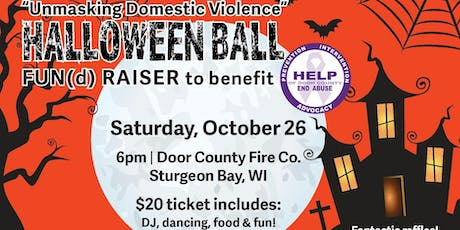 """""""Unmasking Domestic Violence Halloween Ball"""" tickets"""