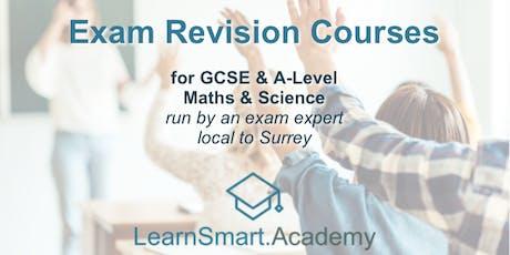 GCSE Maths Mock-exam Revision tickets