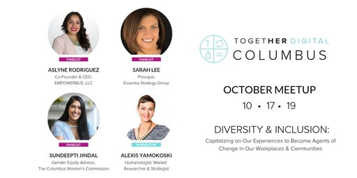 Together Digital Columbus | October Members Only Meetup: Diversity and Inclusion in the Workplace