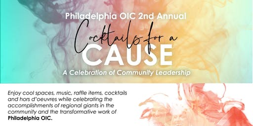 Philadelphia OIC Community Leadership Recognition Reception - Cocktails for a Cause 2019